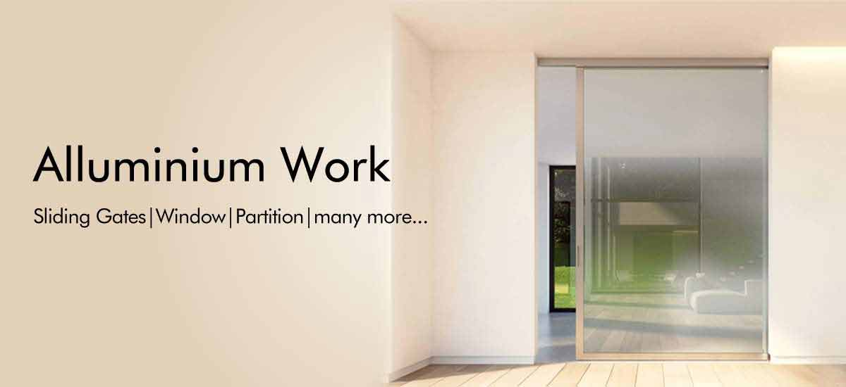 aluminium works in gurgaon